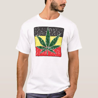 Rasta Pot Leaf T-Shirt