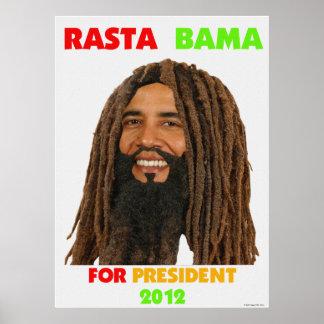 Rasta President Rasta Bama 2012 Canvas Print