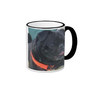 rasta pug mug