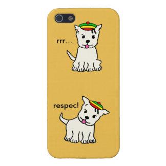 Rasta pup/ cute rasta dog iphone case