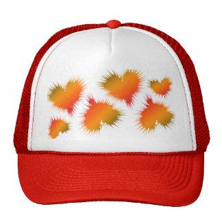 Rasta Rainbow Hearts Trucker Hat
