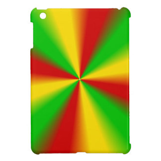 Rasta Rays Green Yellow and Red Case For The iPad Mini