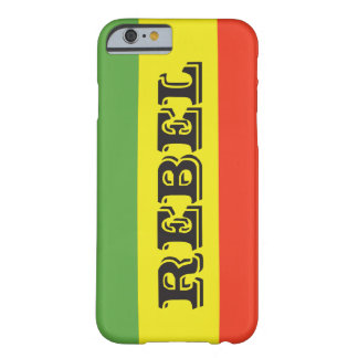 Rasta Rebel Flag Barely There iPhone 6 Case