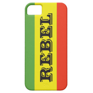 Rasta Rebel Flag iPhone SE/5/5s Case