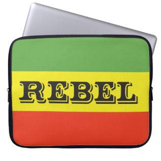 Rasta Rebel Flag Laptop Computer Sleeves