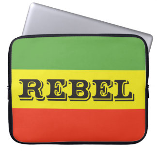 Rasta Rebel Flag Laptop Sleeve