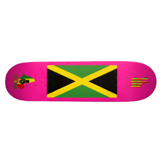 Rasta Reggae Black Power in Africa Jamaica Board