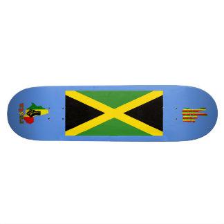 Rasta Reggae Black Power in Africa Jamaica Board Skateboards