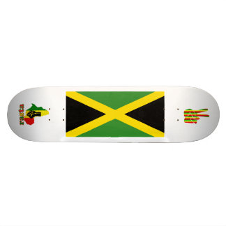 Rasta Reggae Black Power in Africa Jamaica Skatebo Skateboard