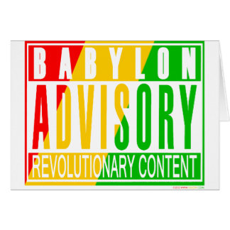 RASTA Reggae Card
