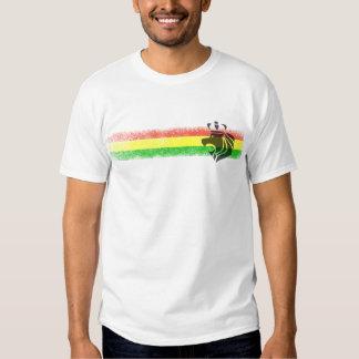 Rasta Reggae Crowned Lion T Shirt