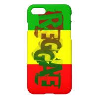 rasta reggae graffiti flag iPhone 7 case