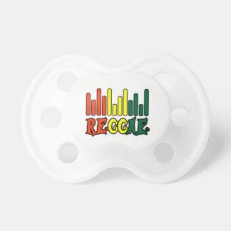 rasta reggae graffiti flag pacifier