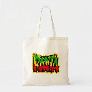 Rasta reggae graffiti tote bag