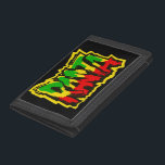 "Rasta reggae graffiti trifold wallet<br><div class=""desc"">Rasta reggae graffiti</div>"
