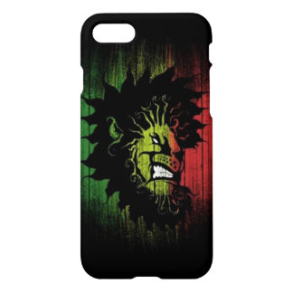 rasta reggae lion flag iPhone 7 case