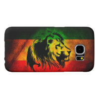 rasta reggae lion flag samsung galaxy s6 case
