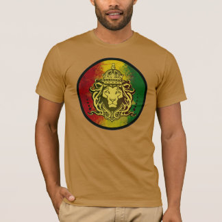 rasta reggae lion flag T-Shirt