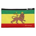 Rasta Reggae Lion of Judah Cosmetic Bag at Zazzle