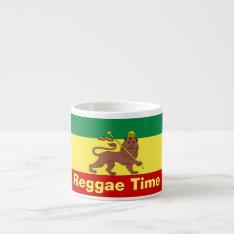 Rasta Reggae Lion Of Judah Espresso Cup at Zazzle