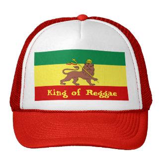 Rasta Reggae Lion of Judah Trucker Hats