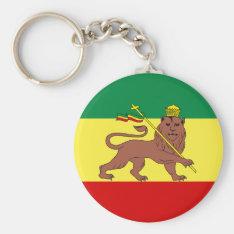 Rasta Reggae Lion Of Judah Keychain at Zazzle