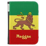 Rasta Reggae Lion of Judah Kindle Keyboard Cases