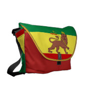 Rasta Reggae Lion of Judah Large Zero Messenger Courier Bag at Zazzle