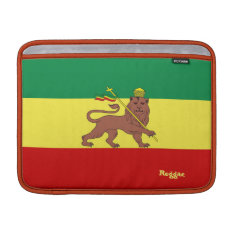 Rasta Reggae Lion Of Judah Macbook Air 13
