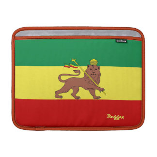 "Rasta Reggae Lion of Judah Macbook Air 13"" Sleeve"
