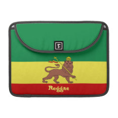 Rasta Reggae Lion Of Judah Macbook Pro 13 Sleeve at Zazzle