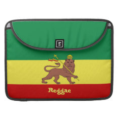 Rasta Reggae Lion Of Judah Macbook Pro 15 Sleeve at Zazzle