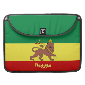 Rasta Reggae Lion of Judah Macbook Pro 15 Sleeve