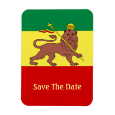 Rasta Reggae Lion Of Judah Magnet at Zazzle