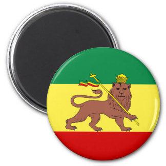 Rasta Reggae Lion of Judah Magnet