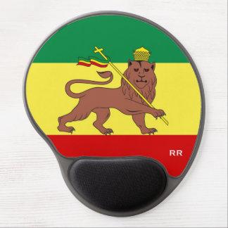 Rasta Reggae Lion of Judah Reggae Baby Gel Mouse Pad