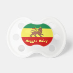 Rasta Reggae Lion of Judah Reggae Baby Pacifier at Zazzle
