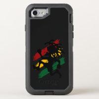 reggae peace flag Otter Box defender iPhone 7 case