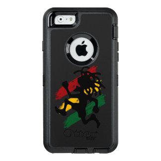 rasta reggae peace flag OtterBox defender iPhone case