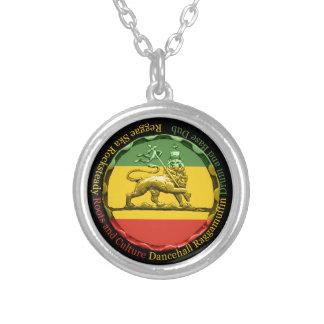 Rasta Reggae Pendant Necklace