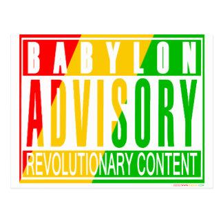 RASTA Reggae Postcard