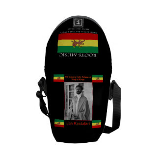 Rasta Reggae Rickshaw Mini Messenger Bag