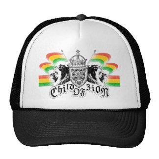 Rasta Reggae Royal Crest Trucker Hats