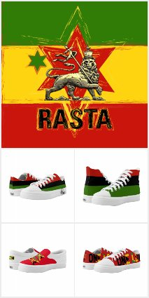 RASTA REGGAE SHOES