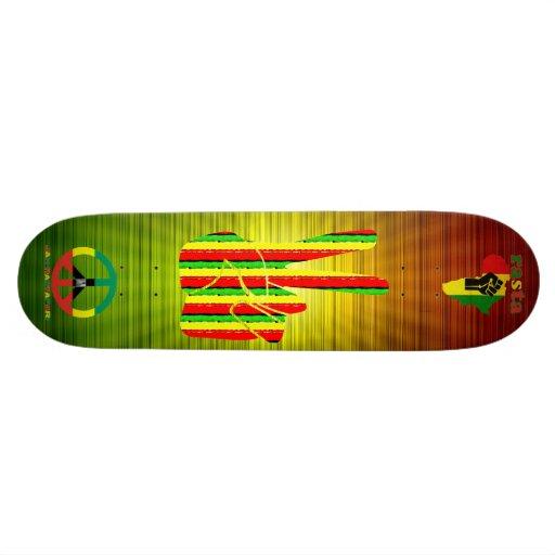 Rasta Reggae  Skateboard