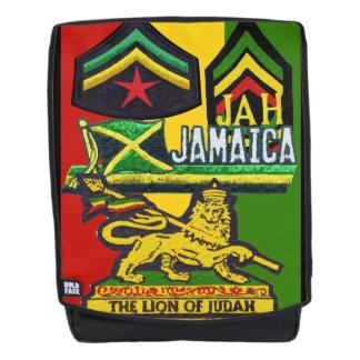 Rasta Reggae Steppers Backpack Rastafarian Design