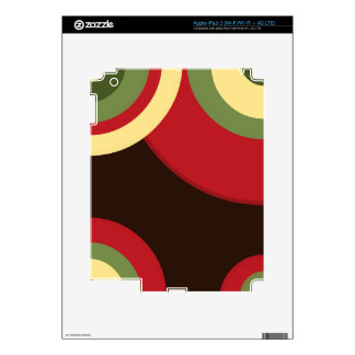 Rasta Retro iPad 3 Decal