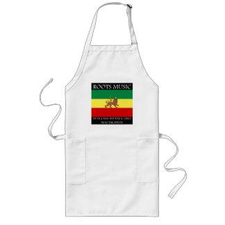 Rasta - Roots Music Ethiopia Flag Lion of Judah Apron