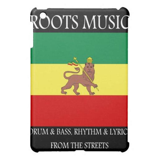 Rasta - Roots Music Ethiopia Flag Lion of Judah iPad Mini Case