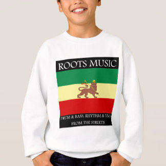 Rasta - Roots Music Ethiopia Flag Lion of Judah Sweatshirt